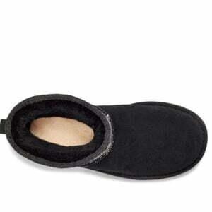 UGG Classic Mini Sequin Star Black boots