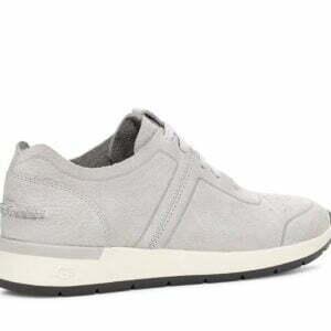 UGG Adaleen Metalic Silver Suede sneakers