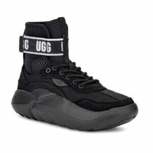 UGG LA Cloud Hi Black Logo sneakers