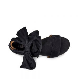 UGG Trina Black wedge sandal
