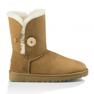UGG Baily Button Chestnut