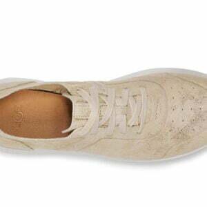 UGG Adaleen Metalic Gold suede sneaker