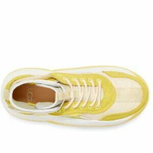 UGG LA Cloud Hi Quinoa Margarita White Hi top sneakers