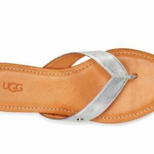 UGG Tuolumne Metallic Silver fit flop