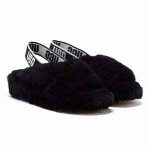 UGG Fab Yeah Slide Black