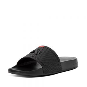 FitFlop iQushion Slides All Black