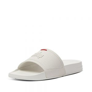 FitFlop iQushion Slides White