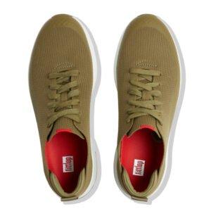 Eversholt Knit Sneaker Olive Green