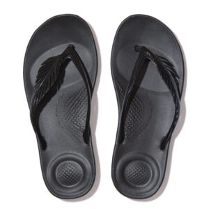 FitFlop iQushion Feather All Black