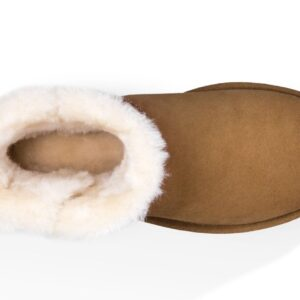 UGG Mini Bailey Button Chestnut boots