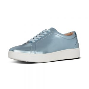 FitFlop Rally Sneaker Metallic Ice Blue