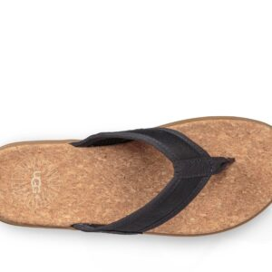 UGG Men's Seaside Flip Navy leather