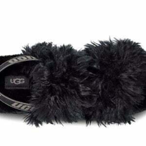 UGG Fluff Sugar Sandal Black