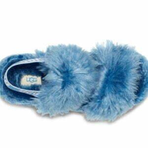 UGG Fluff Sugar Sandal Blue