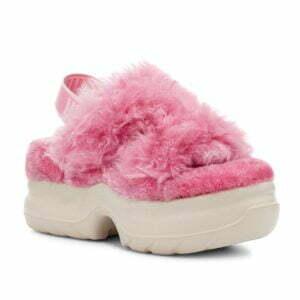 UGG Fluff Sugar Platform Pink