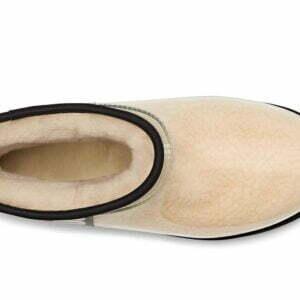 UGG Classic Clear Mini Natural Black boots