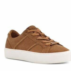 UGG Dinale Chestnut Suede sneakers