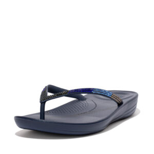 FitFlop iQushion Ombre Sparkle Midnight Navy