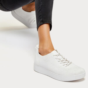 FitFlop Rally Tonal Knit Urban White sneakers