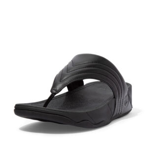 FitFlop Walkstar Leather All Black